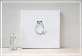 Original Ölbild  Katze Katy