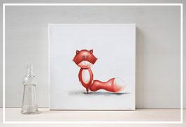 Original Ölbild Fuchs Nico