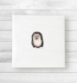 Kunstdruck auf Leinwand - Igel Gogo