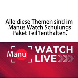 """Manu   """"Watch Live""""   (Teil 1)"""