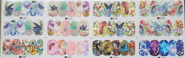 XS- Schmetterlings Wraps-Päckchen  (60Stück)