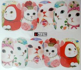 zuckersüße Katze NR. A1279