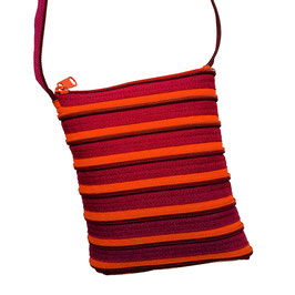Petit sac orange/prune