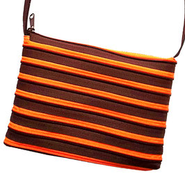 Grand sac chocolat / orange