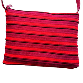 Grand sac bordeau / rouge