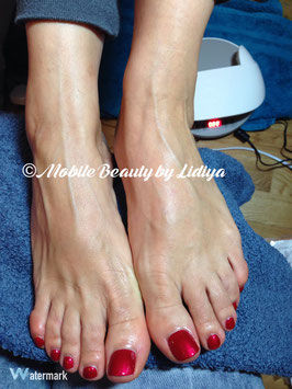 Shellac Pedicure - 1hr 15 min