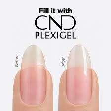 Repair a nail with CND PLEXIGEL /per nail