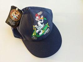 *Deadstock* 1997 Walt Disney Looney Tunes Kappe Bugs Bunny Stickerei (One Size)