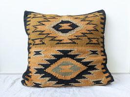 Kissen Hülle Kelim Azteken Muster Handgewebt