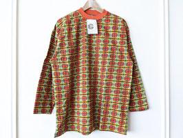 Sweater 70er Jahre Print Karo *Deadstock* Neu mit Etikett (M-L)