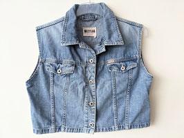 *Mustang* Jeans Weste Kurz Cropped 90s (XL)