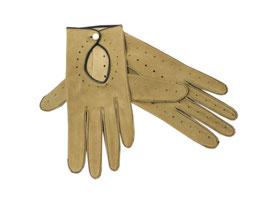 Wildleder Handschuhe Oldtimer (S)