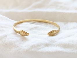 Armreif Gold 14k Vergoldet Heavin • Snake