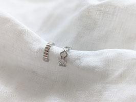 Earcuffs Silber Ohrring Set Statement 14k Weißgold Vergoldung Vintage Stil