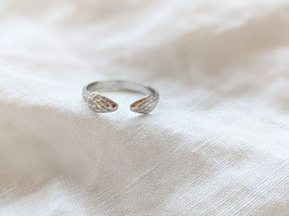 Ring Snake Silber 14k Weißgold Vergoldung Vintage Stil • Heavin