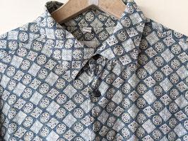 Hemd Crazy Pattern Blau Celtic Prints • Heavin (XL)