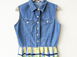 Kleid Jeans & Crazy Pattern Print 90s Heavin (S-M)