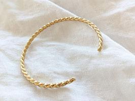 Armreif Gold 14k Vergoldet Heavin • Twisted