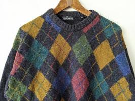 Pullover *Premium Qualität* 100% Wolle Norweger Strickmuster Norweger (L)