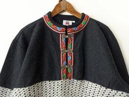 *Premium Qualität* Pullover Folklore 100% Wolle Norweger (L)