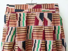Faltenrock Afrikanischer Print Handmade Heavin (S-M)
