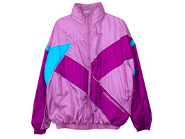 Trainingsjacke 80s Tracksuit Weste Oversized (XL)