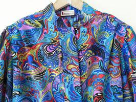 Blouson & Bluse 80s Psychedelic Print Heavin (L-XL)