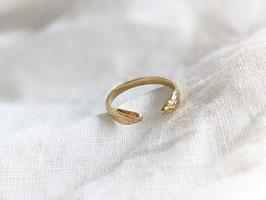 Ring Snake Gold 14k Vergoldung Vintage Stil • Heavin