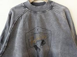 Sweater *Designed in Heaven* Patch Fashion Politics Crewneck (XL)