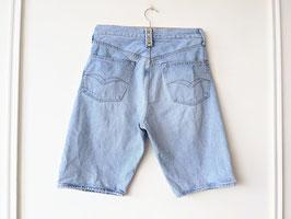 Jeans Shorts Replay W32 Bermuda Hellblau 80s (M)