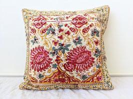 Kissen Hülle Batik Blumen Print Handgedruckt