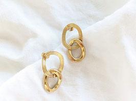 Ohrringe Gold 14k Vergoldet • Organic Circles