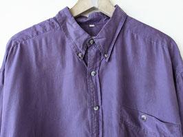 *Premium Basic* Hemd 100% Seide Lavendel S-Oliver • Heavin (XL)