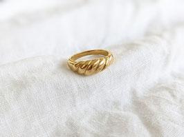 Ring Gold 14k Vergoldung Massiv Heavin  • Croissant
