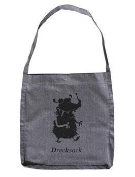 Shopper | Drecksack | grau