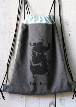 Rucksack | Drecksack | grau