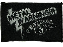 Patch 'Metal Warning Festival'
