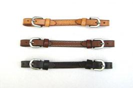 ProduktnameKinnriemen - US Leder - 3 Farben - Two Buckle