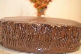 Tartas de chocolate.