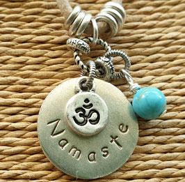 Namaste Inspiration Word Pendant