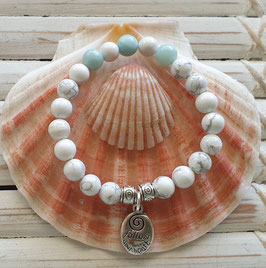 Howlite Harmony & Balance Bracelet