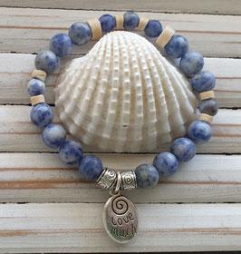 Sodalite  Beach Energy Bracelet