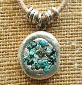 Turquoise Antique Pendant