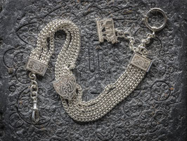 Uhrenkette aus echtem  Silber