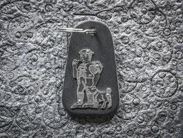 Schlüsselanhänger Senn, Neusilber