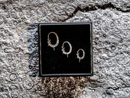 Schlangenkopf (Brisur) - Silber 925