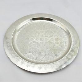 Deko-Teller aus Alpaka 30 cm