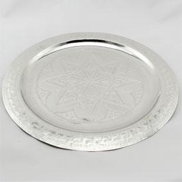 Deko-Teller aus Alpaka 35 cm