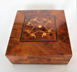 Schmuck-Kiste  aus Red Cedar / Thuja