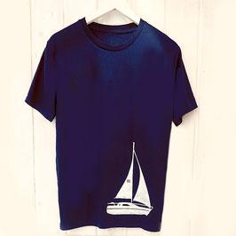 Cooles T-Shirt mit Segelboot